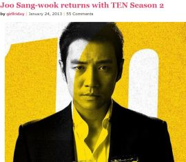 Joo Sang Wook's Ten is back for another season